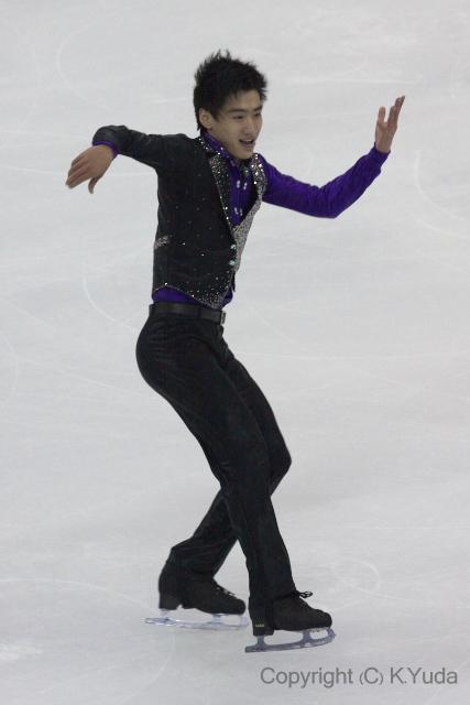 2011年中国杯・男子フリー_b0038294_10461012.jpg