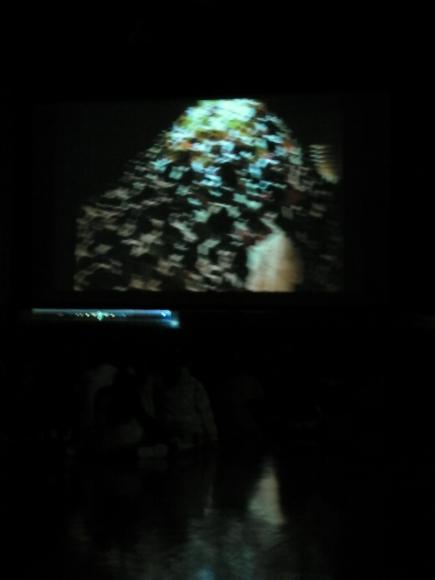 2011年 おとどけアート 稲積小学校 「秋の秘密基地」 小助川裕康_a0062127_11543536.jpg