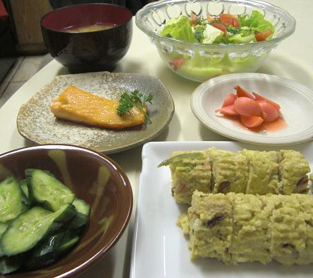 おからの擬製豆腐風。_c0119140_13295553.jpg