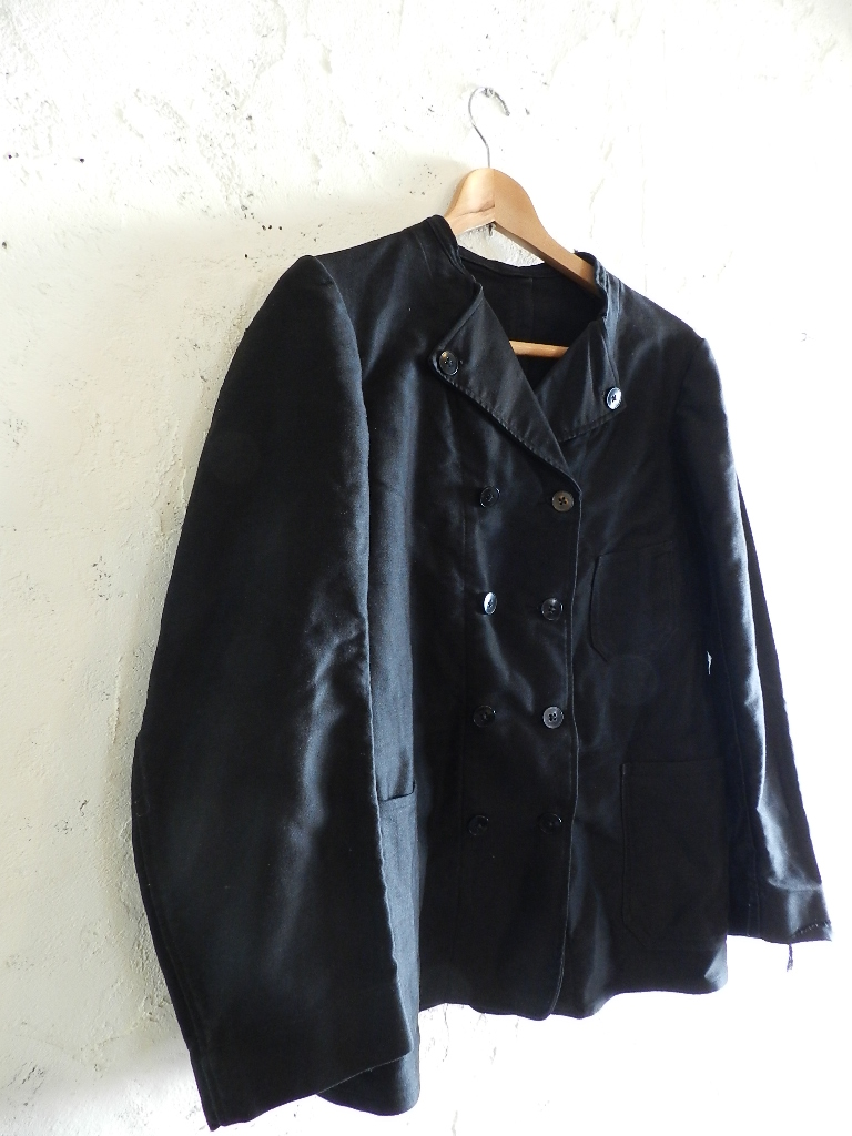 French mole skin double button jacket _f0226051_21294490.jpg