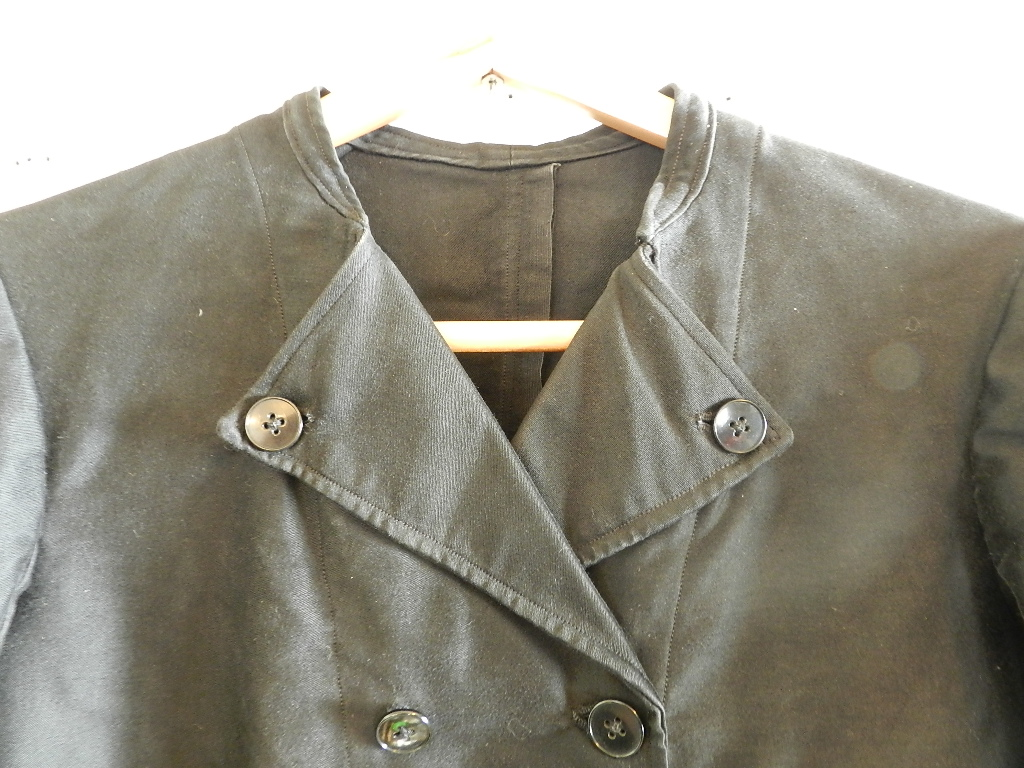French mole skin double button jacket _f0226051_21301683.jpg