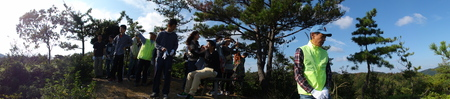 岬高校第1学年植樹サポート in 孝子の森_c0108460_18133442.jpg