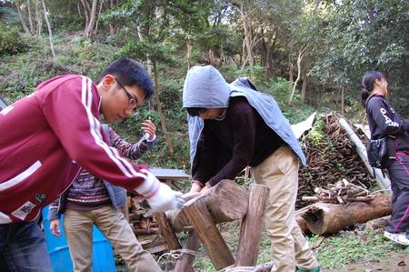 岬高校第1学年植樹サポート in 孝子の森_c0108460_1822433.jpg