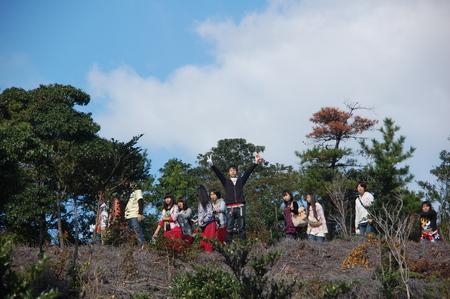 岬高校第1学年植樹サポート in 孝子の森_c0108460_18242720.jpg
