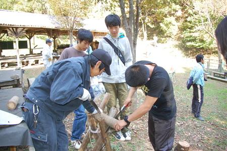 岬高校第1学年植樹サポート in 孝子の森_c0108460_18314364.jpg