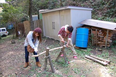 岬高校第1学年植樹サポート in 孝子の森_c0108460_18341058.jpg