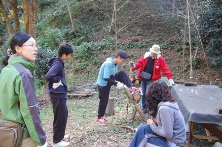 岬高校第1学年植樹サポート in 孝子の森_c0108460_18351453.jpg