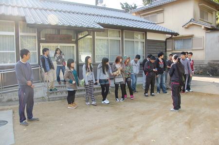 岬高校第1学年植樹サポート in 孝子の森_c0108460_1895360.jpg