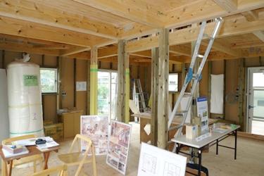 遠賀郡芦屋町にてさんかく屋根の家・緑の柱!構造見学会_b0112371_11151397.jpg