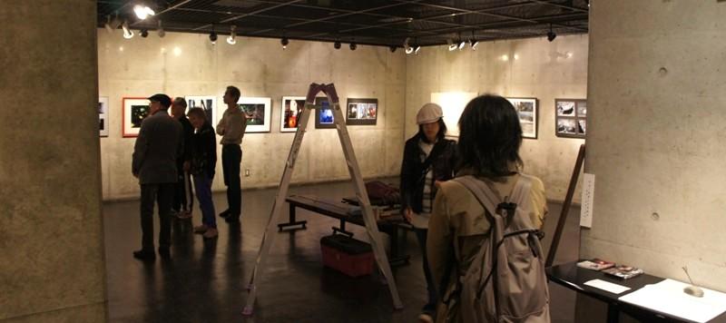 11年11月9日・写真教室受講生とOBの写真展搬入_c0129671_19114820.jpg
