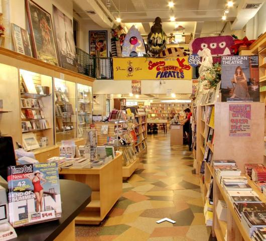 ニューヨークの本屋さん店内にもストリート・ビュー導入中_b0007805_1532970.jpg