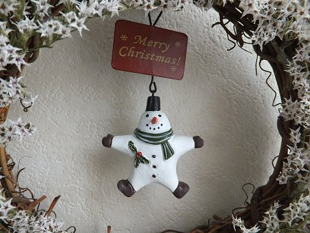 クリスマスリースだよ~_b0238118_2134011.jpg
