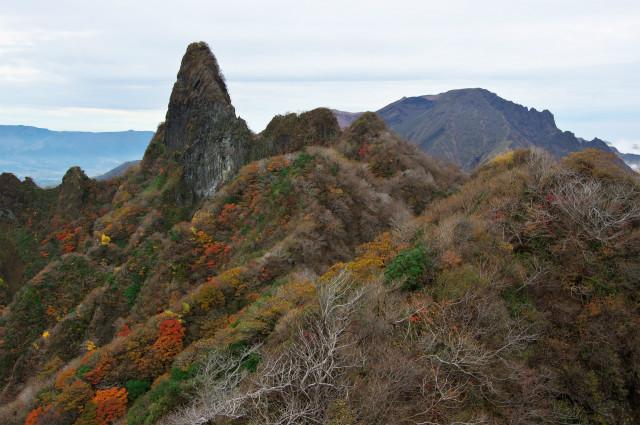 根子岳の紅葉_d0177220_1726379.jpg