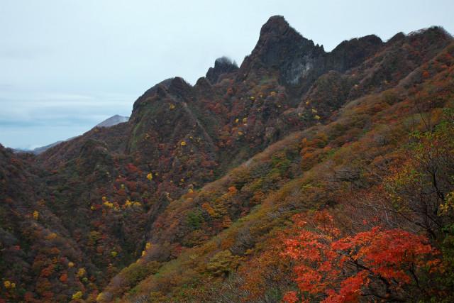 根子岳の紅葉_d0177220_1728871.jpg