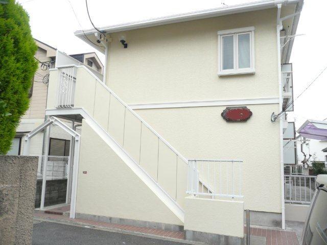 アパートの塗り替えが終了しました(東京都杉並区)_e0207151_18154633.jpg