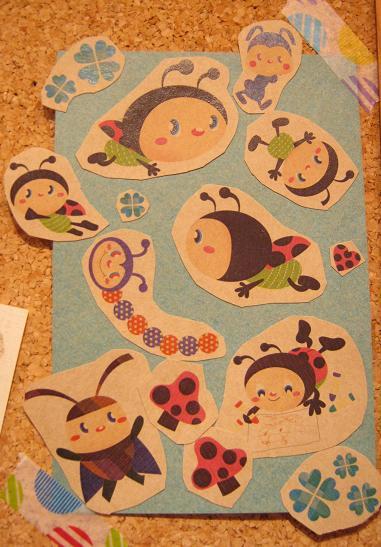 もぞもぞ 虫・蟲 展 - mozomozo mushimushi ten -      たまごの工房 企画展その10_e0134502_344854.jpg