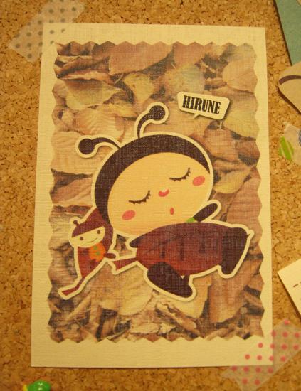 もぞもぞ 虫・蟲 展 - mozomozo mushimushi ten -      たまごの工房 企画展その10_e0134502_34626.jpg