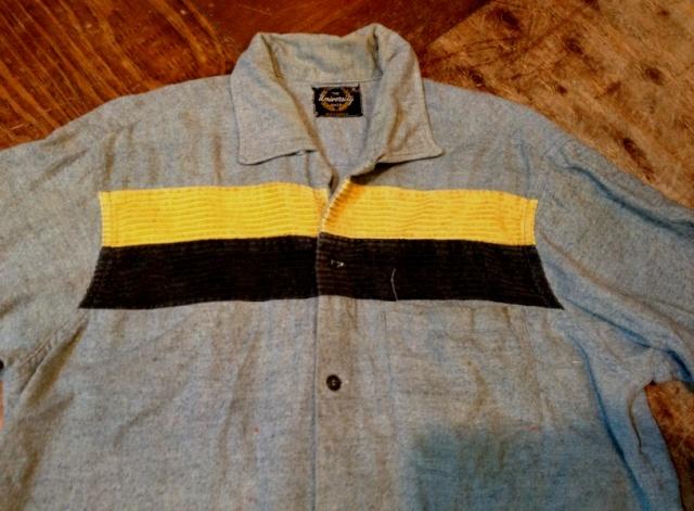 11/12(土)入荷!明日はシャツ祭り!#3 ボックスネル テープ付きシャツ _c0144020_1651138.jpg