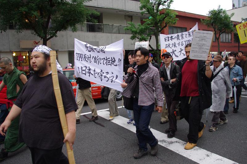 10・30渋谷 TPP断固拒否国民デモ - 2011.10.30_a0222059_1535357.jpg