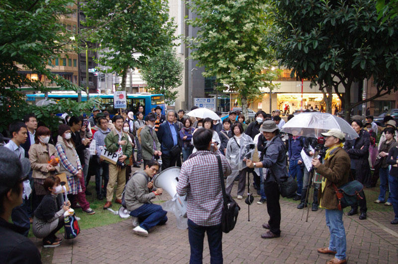 10・30渋谷 TPP断固拒否国民デモ - 2011.10.30_a0222059_15391820.jpg