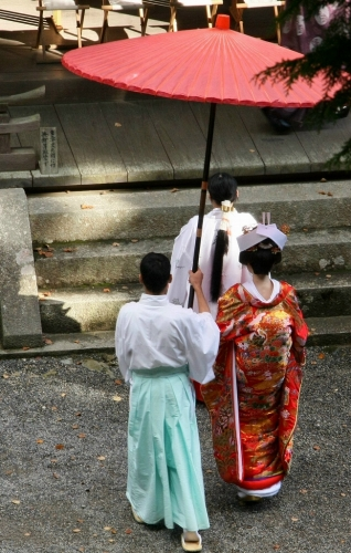 坂本の紅葉1 日吉大社_c0196076_134122.jpg