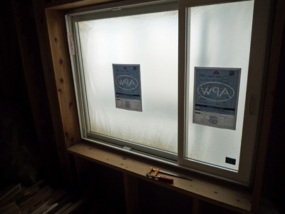 窓の外は白い・・・ビニール??_a0148909_0271615.jpg