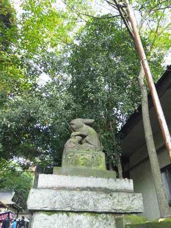調神社(つきじんじゃ)_d0085018_23124538.jpg