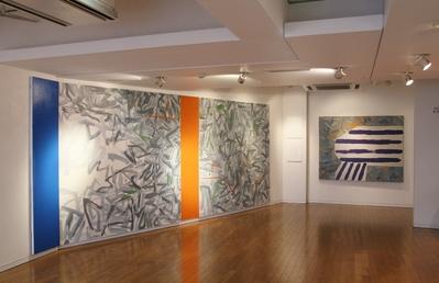 画廊空間を圧倒する大森翠展開催中_d0178431_15404523.jpg