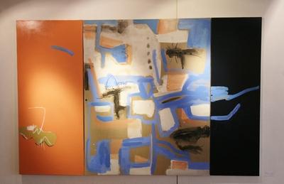 画廊空間を圧倒する大森翠展開催中_d0178431_15452141.jpg