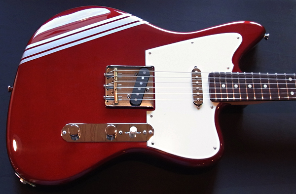 「Candy Apple RedのPsychocaster 1本目」が完成デス! _e0053731_1895136.jpg