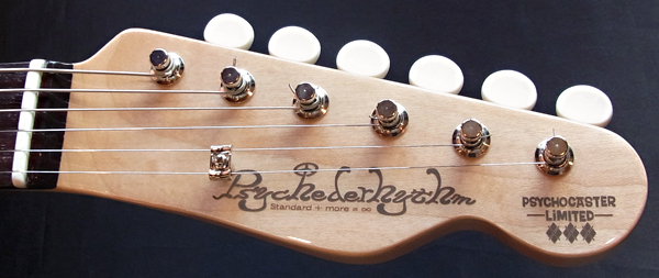 「Candy Apple RedのPsychocaster 1本目」が完成デス! _e0053731_1895756.jpg