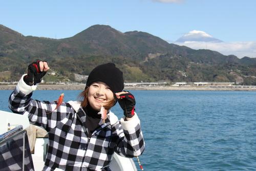 釣りガール理恵ちゃんカワハギ2枚ゲット_f0175450_19453097.jpg