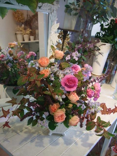 オークリーフ花の教室(山田さんの作品)_f0049672_13522575.jpg
