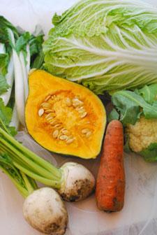 *休日ブログ*野菜をたべなくちゃ!キシノウエンさんのお試し便_a0115684_20484543.jpg