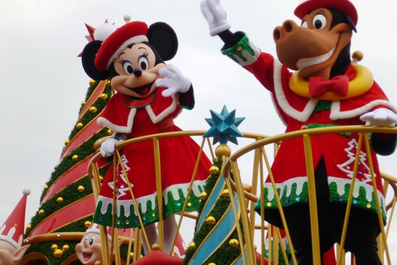 Tokyo Disneyland ~サンタヴィレッジ・パレード~_a0127090_12284657.jpg