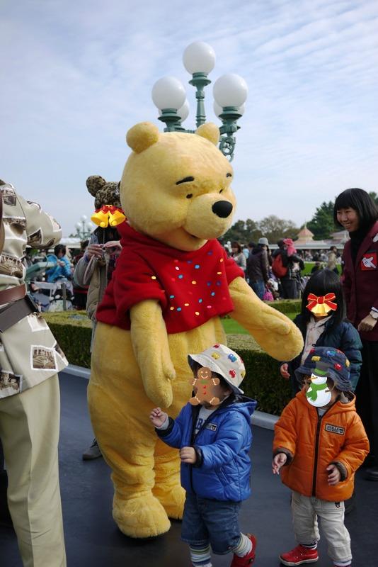 Tokyo Disneyland ~サンタヴィレッジ・パレード~_a0127090_1233674.jpg