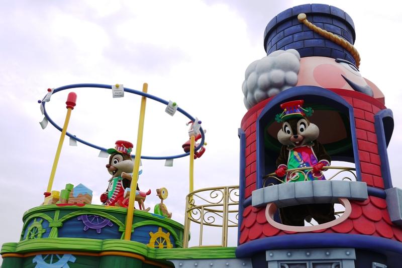 Tokyo Disneyland ~サンタヴィレッジ・パレード~_a0127090_12352223.jpg