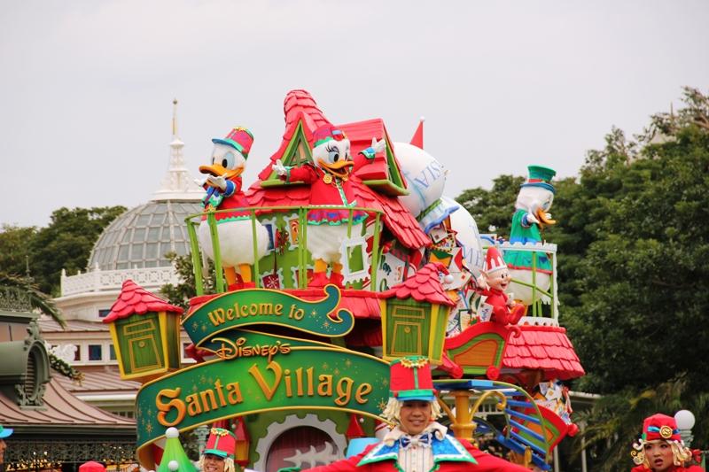 Tokyo Disneyland ~サンタヴィレッジ・パレード~ ※オット撮影編_a0127090_13133255.jpg