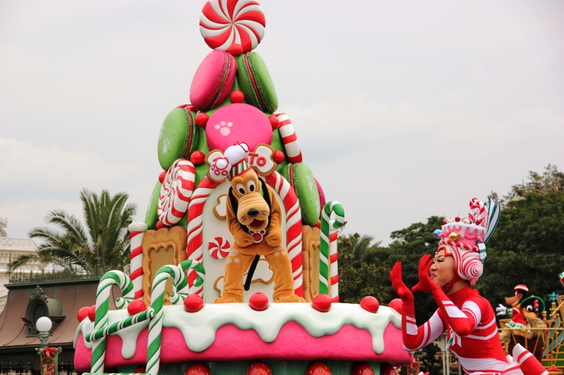 Tokyo Disneyland ~サンタヴィレッジ・パレード~ ※オット撮影編_a0127090_13135447.jpg