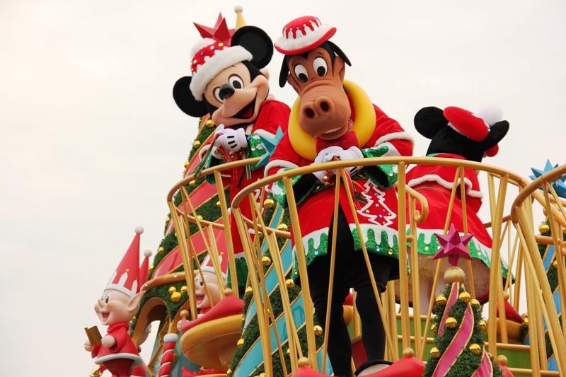 Tokyo Disneyland ~サンタヴィレッジ・パレード~ ※オット撮影編_a0127090_13144222.jpg