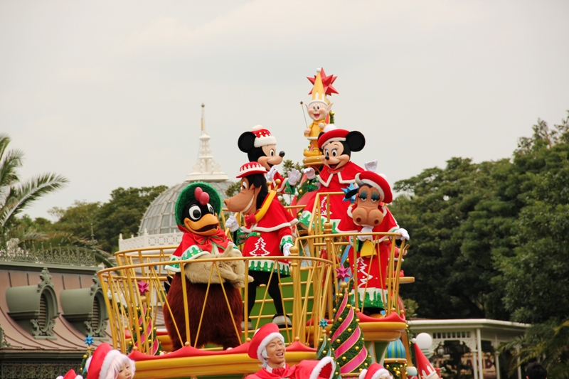 Tokyo Disneyland ~サンタヴィレッジ・パレード~ ※オット撮影編_a0127090_1314439.jpg