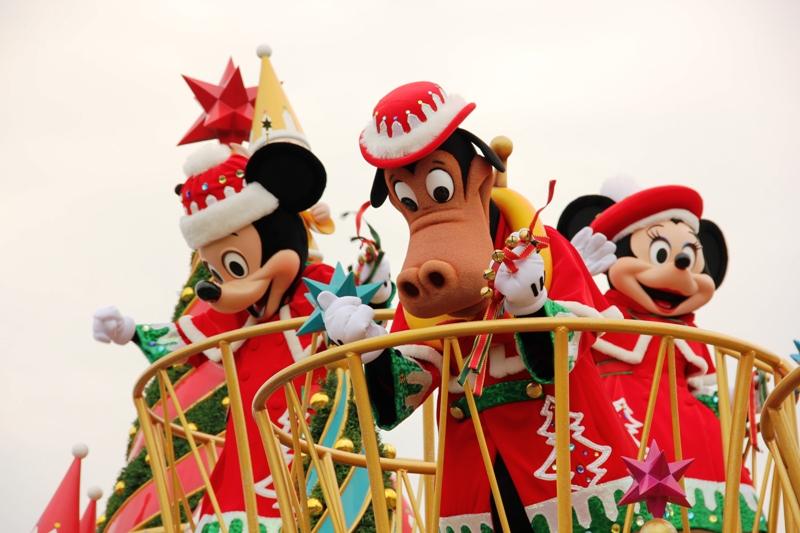 Tokyo Disneyland ~サンタヴィレッジ・パレード~ ※オット撮影編_a0127090_13145232.jpg