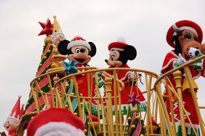 Tokyo Disneyland ~サンタヴィレッジ・パレード~ ※オット撮影編_a0127090_13145688.jpg