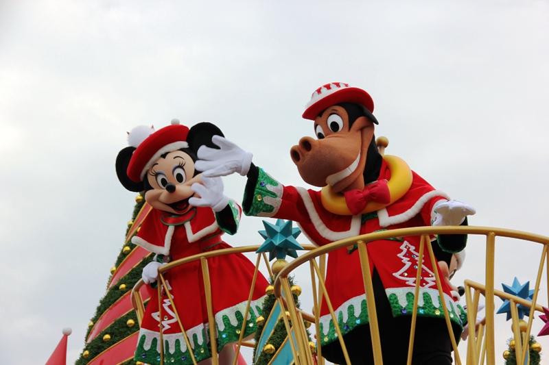 Tokyo Disneyland ~サンタヴィレッジ・パレード~ ※オット撮影編_a0127090_13153247.jpg