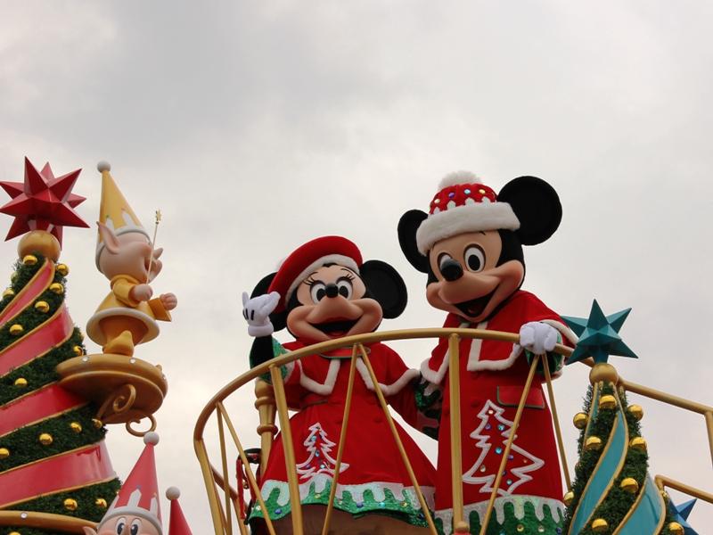 Tokyo Disneyland ~サンタヴィレッジ・パレード~ ※オット撮影編_a0127090_1315364.jpg