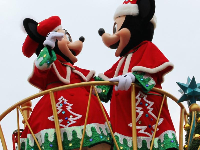 Tokyo Disneyland ~サンタヴィレッジ・パレード~ ※オット撮影編_a0127090_13154537.jpg