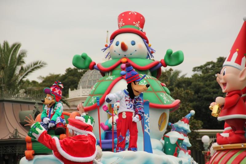 Tokyo Disneyland ~サンタヴィレッジ・パレード~ ※オット撮影編_a0127090_13164713.jpg