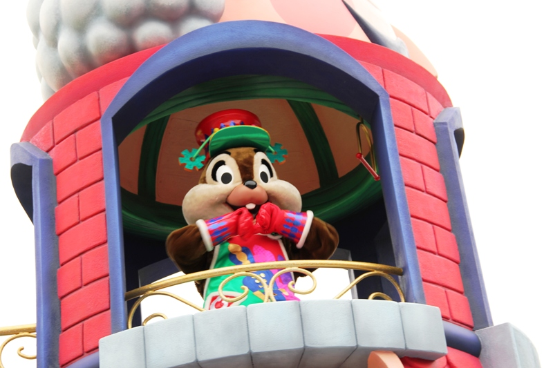 Tokyo Disneyland ~サンタヴィレッジ・パレード~ ※オット撮影編_a0127090_1317040.jpg