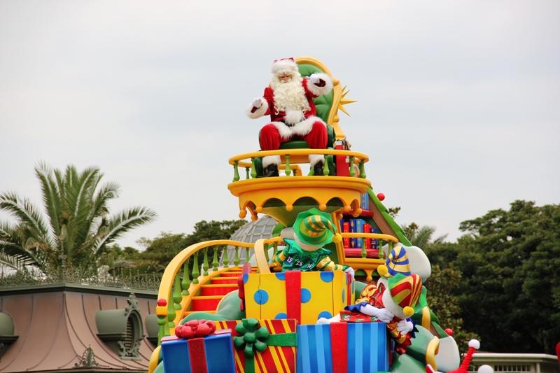 Tokyo Disneyland ~サンタヴィレッジ・パレード~ ※オット撮影編_a0127090_13171094.jpg