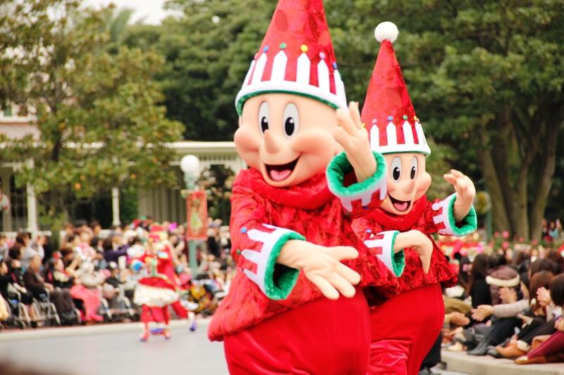Tokyo Disneyland ~サンタヴィレッジ・パレード~ ※オット撮影編_a0127090_1432109.jpg